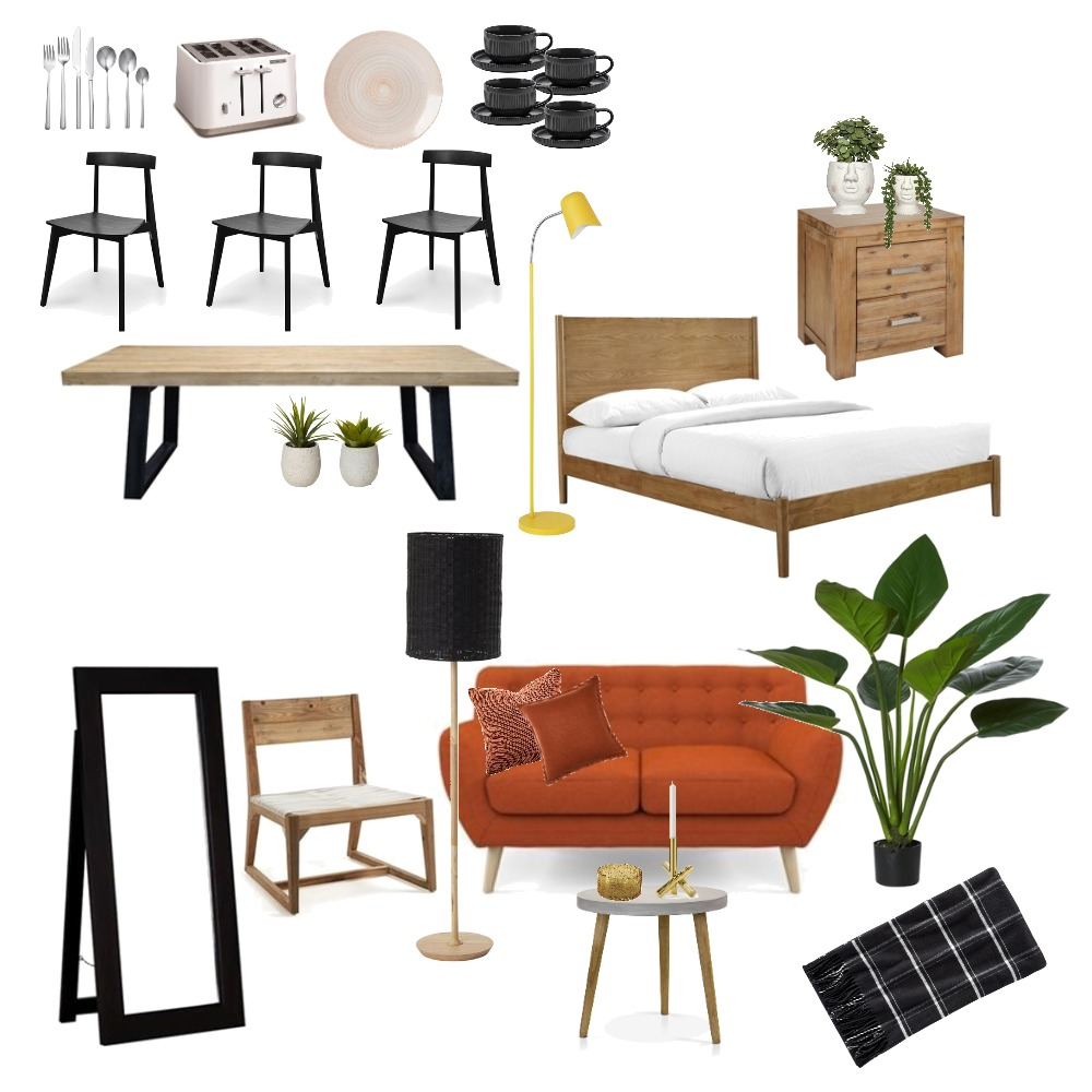 FIRST OWN HOME Interior Design Mood Board by Scandinavian Interior Enthusiast on Style Sourcebook