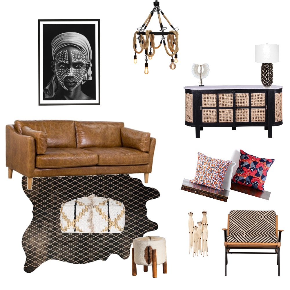 African Interior Design Mood Board by Megan.webb@me.com on Style Sourcebook
