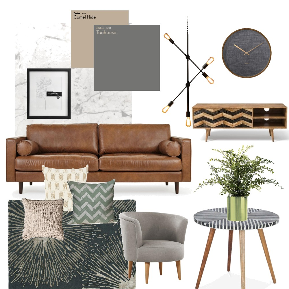 LIVING ROOM Interior Design Mood Board by INICIO PLANNERS on Style Sourcebook