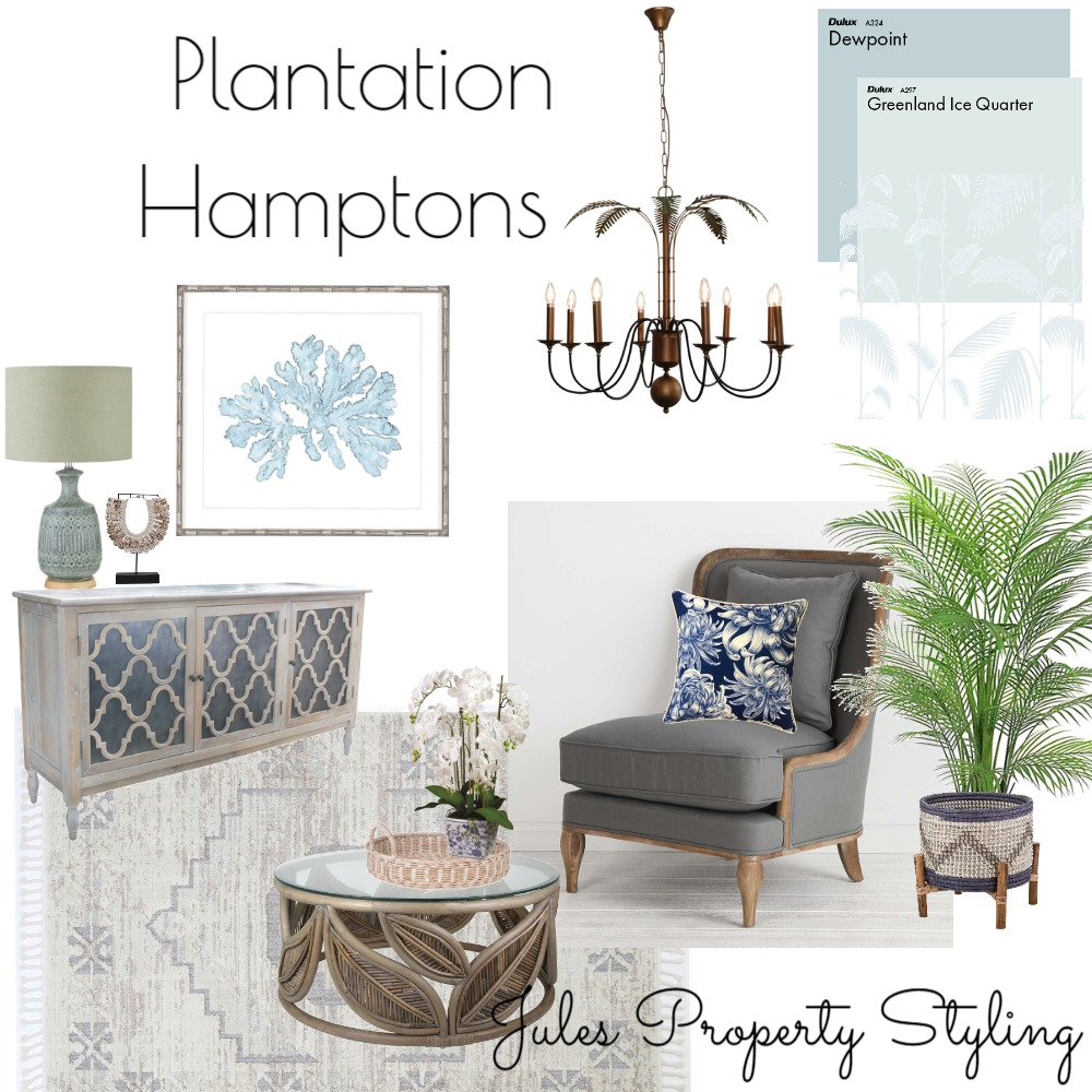Plantation Hamptons Interior Design Mood Board by Juliebeki on Style Sourcebook