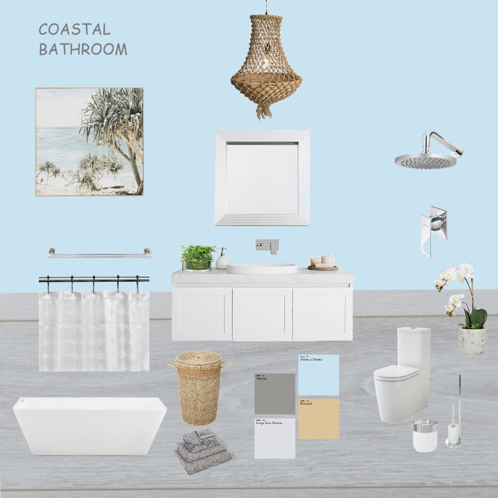 COASTAL Interior Design Mood Board by Nadeen Odeh on Style Sourcebook