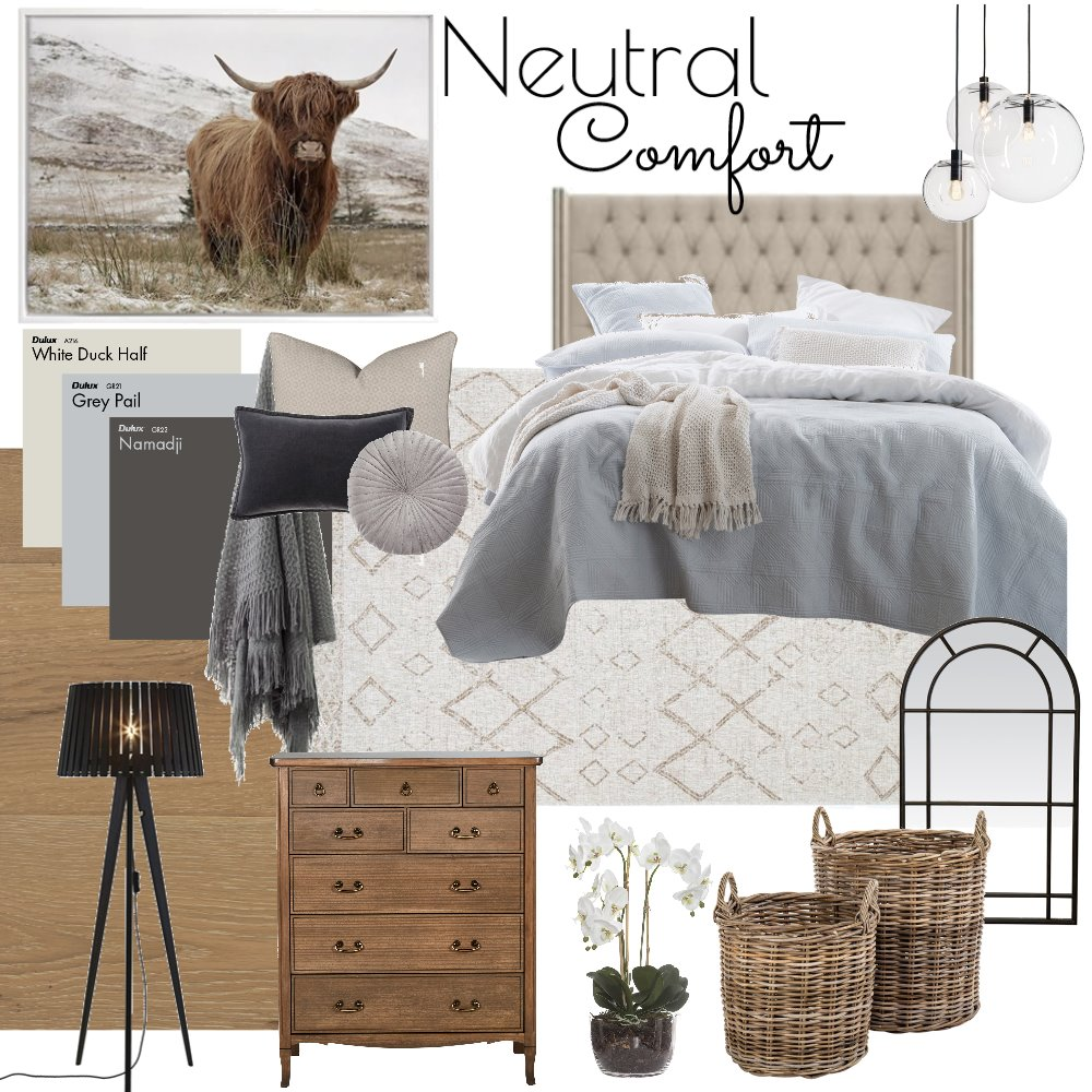neutral comfort Interior Design Mood Board by Jlouise on Style Sourcebook