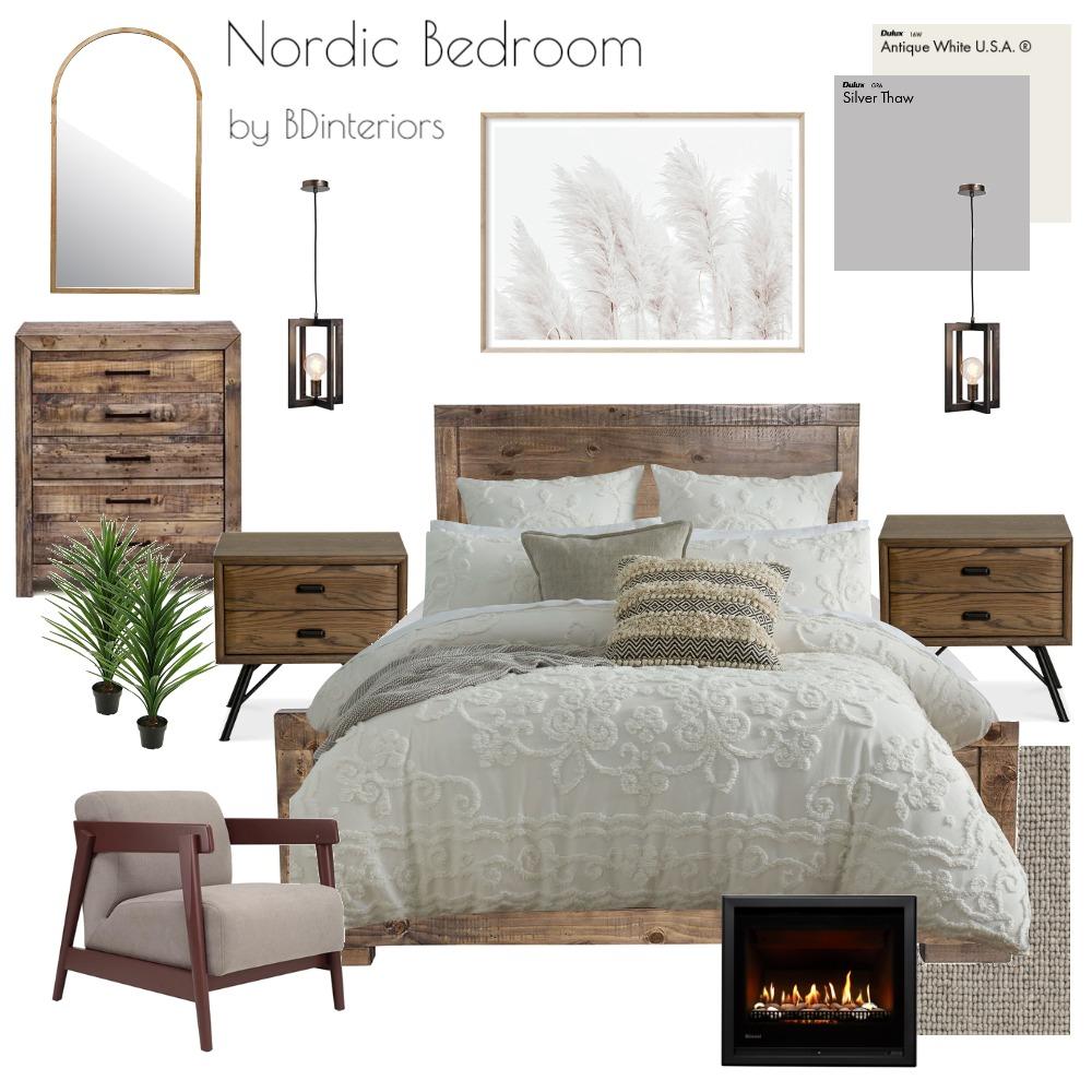 Nordic Bedroom Interior Design Mood Board by bdinteriors on Style Sourcebook