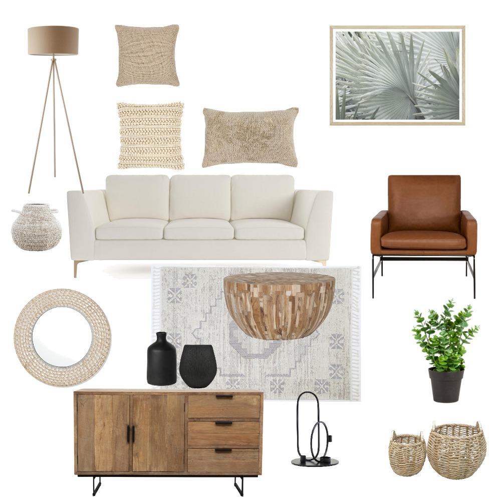 Living room- cream Interior Design Mood Board by Deborah's mood board on Style Sourcebook