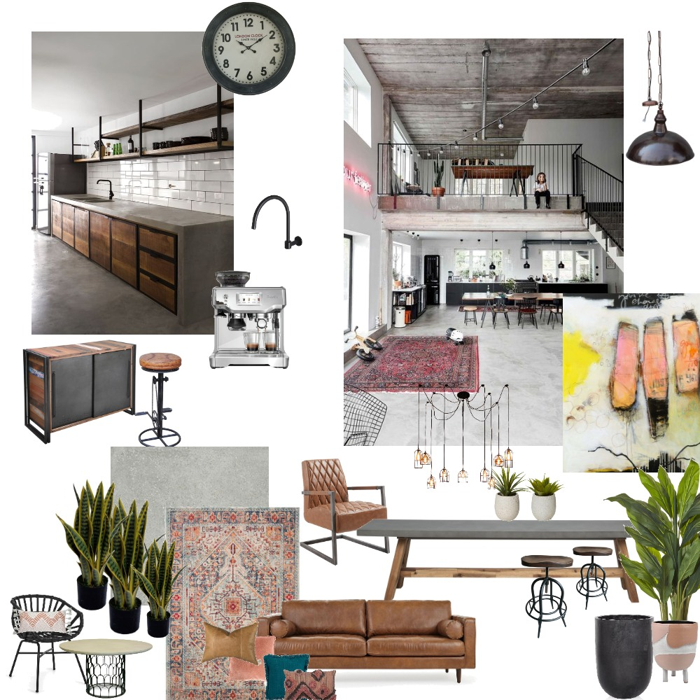 Industrial Design Assignment 3 Interior Design Mood Board by JustineSinclair on Style Sourcebook