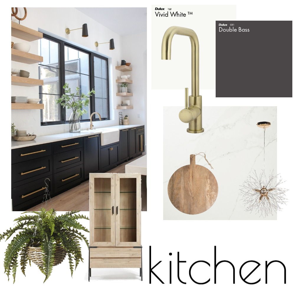 Kitchen Interior Design Mood Board by shania99 on Style Sourcebook