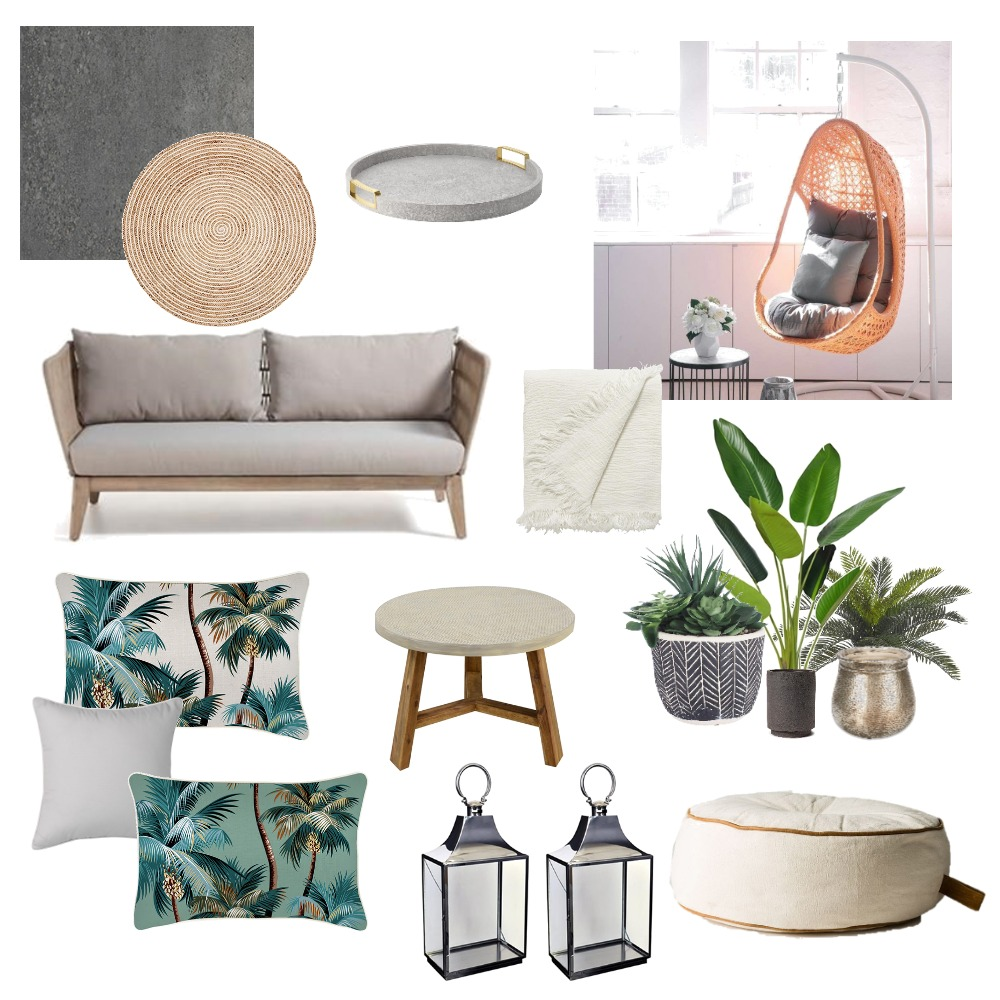 Outdoor Balcony Interior Design Mood Board by styleandsass on Style Sourcebook