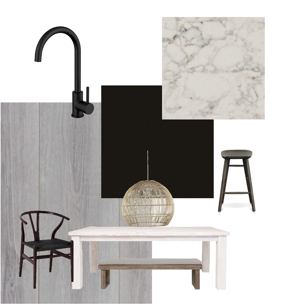 Rowlands Rd Kitchen and Dining Space Interior Design Mood Board by jessoehlers on Style Sourcebook