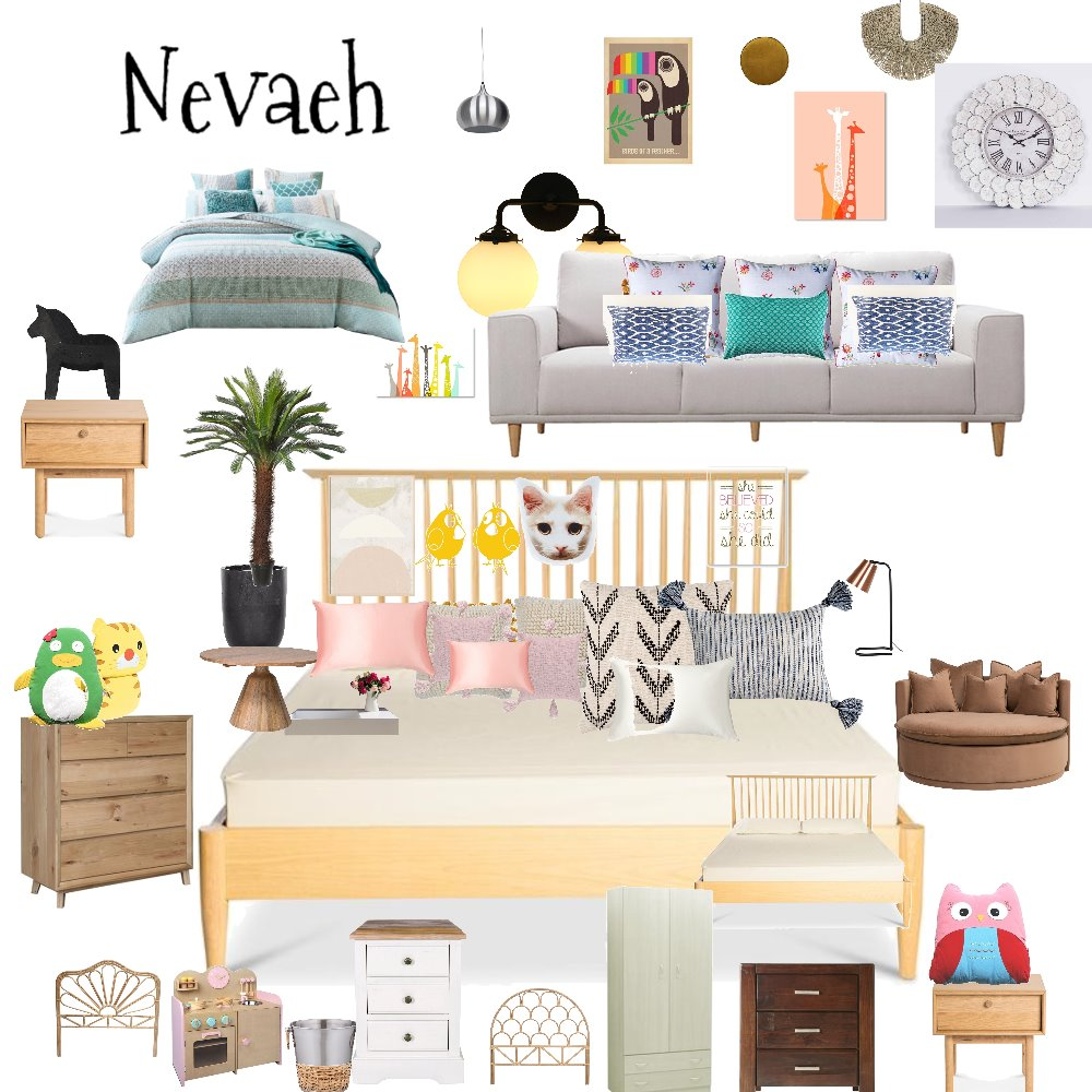 Nevaeh Interior Design Mood Board by Bond on Style Sourcebook
