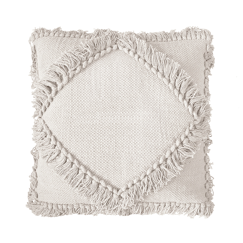 Oasis Cushion in Cotton Ivory by OzDesignFurniture, a Cushions, Decorative Pillows for sale on Style Sourcebook
