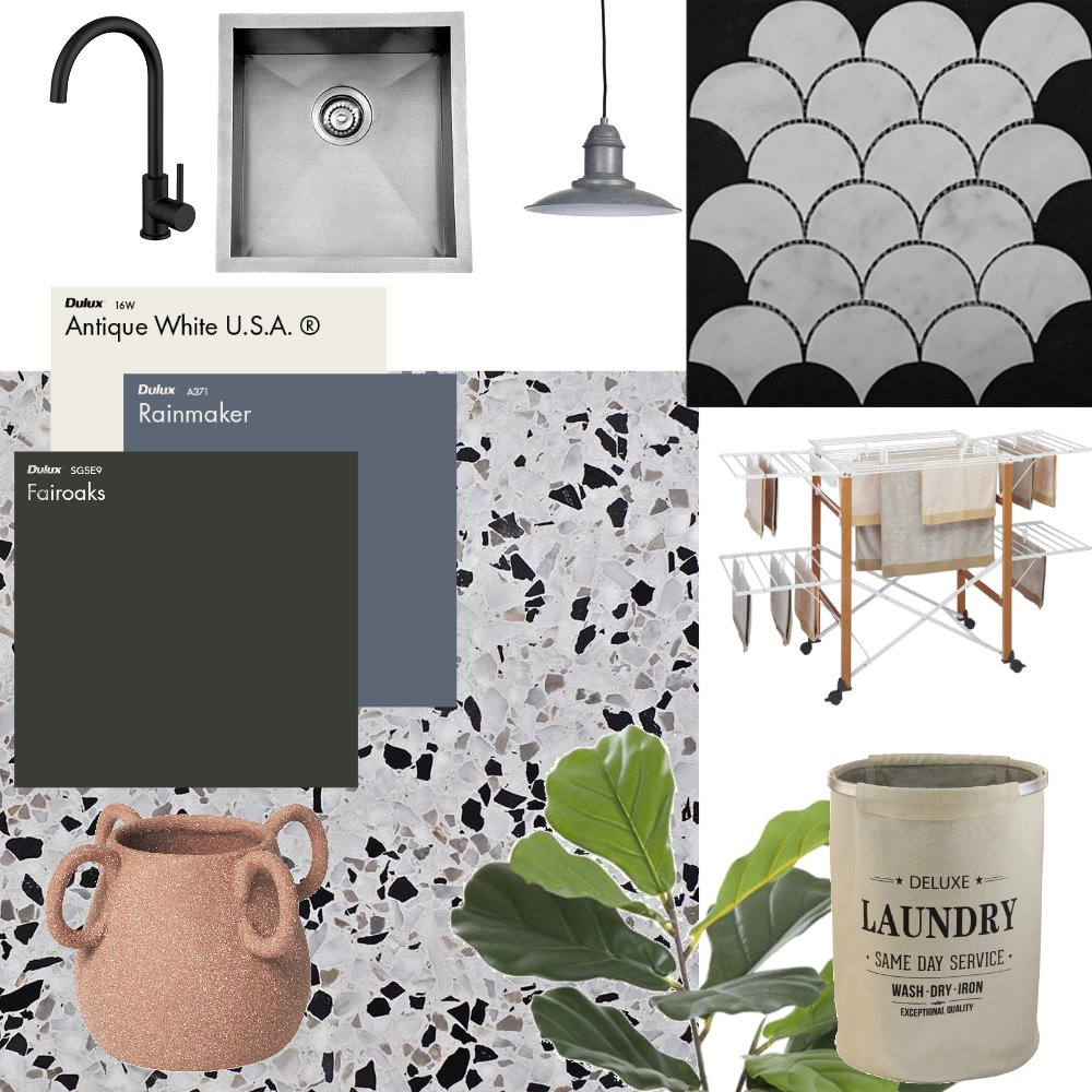laundry Interior Design Mood Board by Jlouise on Style Sourcebook