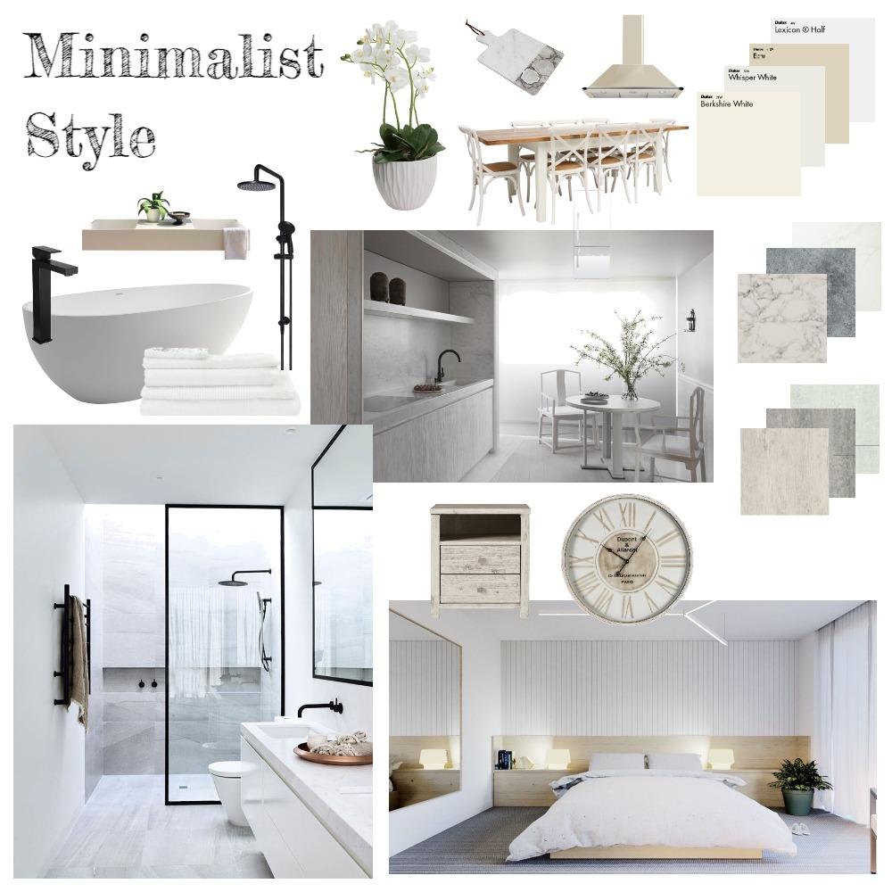 Minimalist Interior Design Mood Board by rachweaver21 on Style Sourcebook