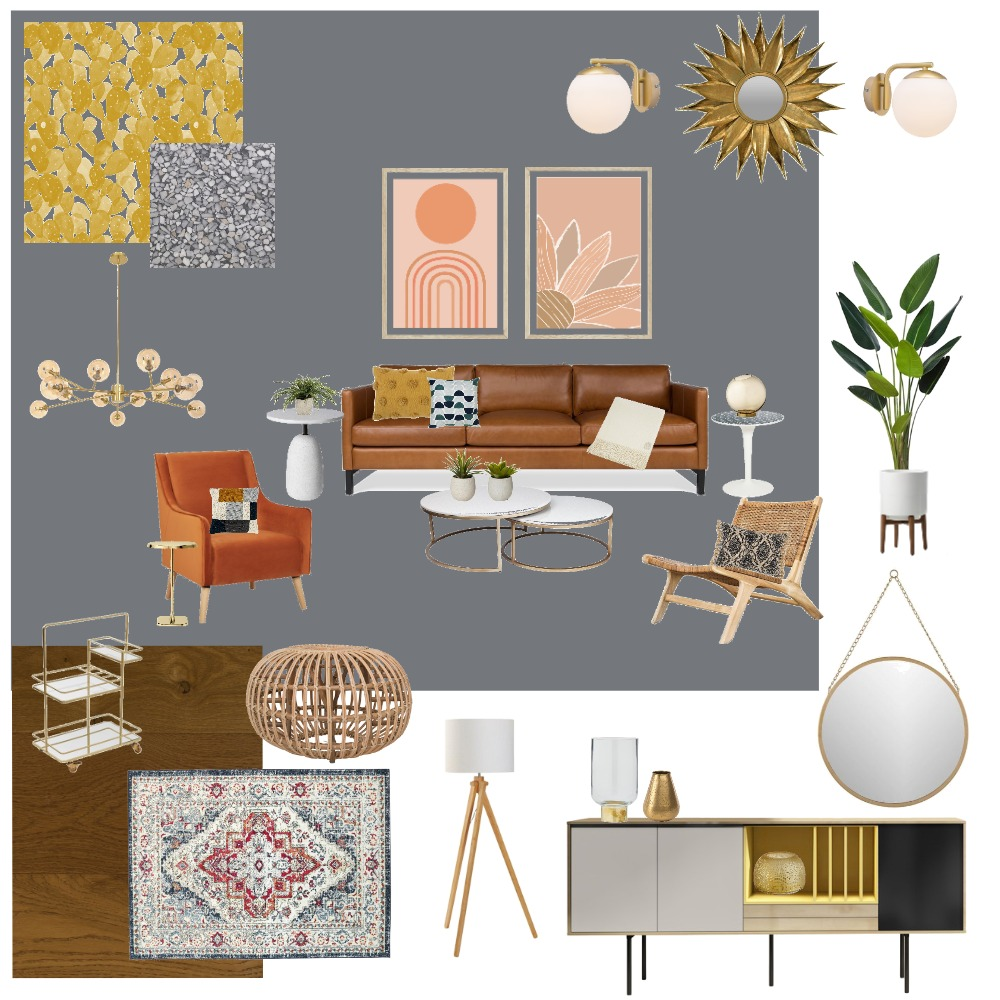 My Mid-Century VIBE Interior Design Mood Board by shawnmsawyer on Style Sourcebook