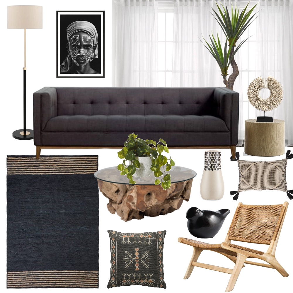 Lounge / Family Room Interior Design Mood Board by Cinnamon Space Designs on Style Sourcebook
