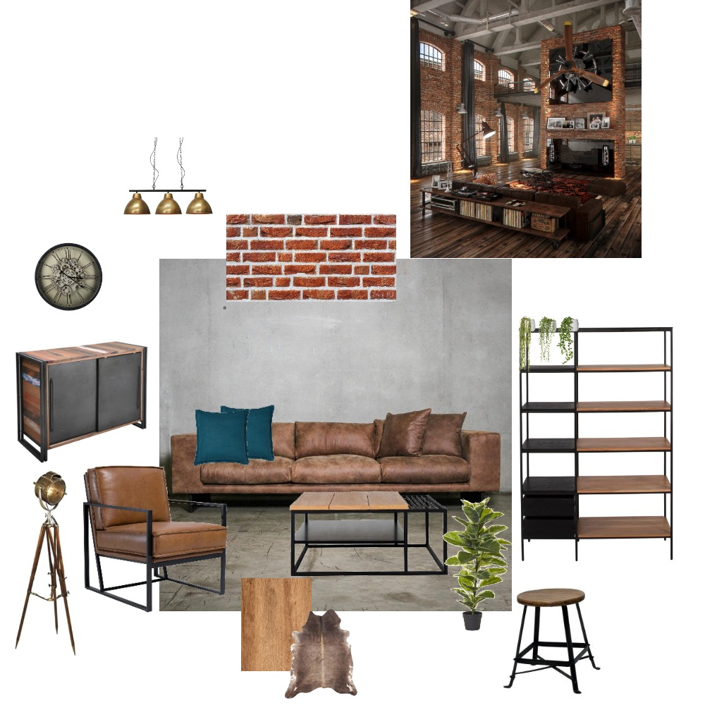 Industrial design Interior Design Mood Board by Irina Barac on Style Sourcebook