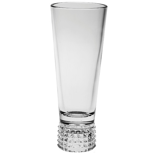 Trinity Footed Crystal Vase Size: 37 x 15 x 15cm