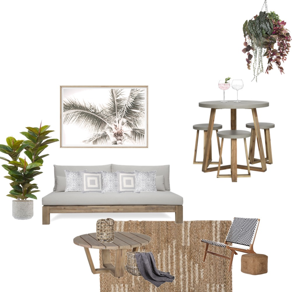 Outdoor Interior Design Mood Board by Simplestyling on Style Sourcebook