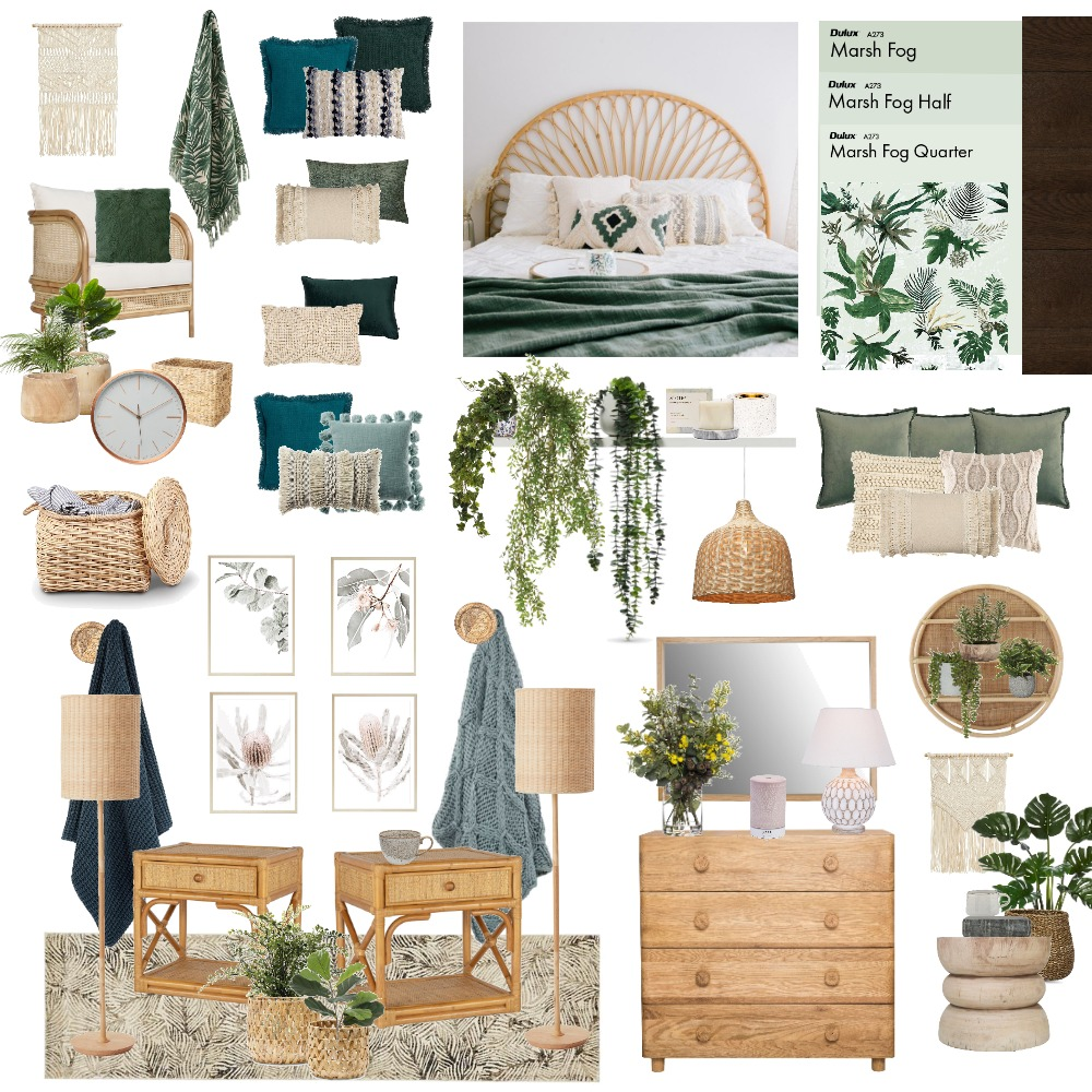 Moodboard bedroom Interior Design Mood Board by Keira on Style Sourcebook