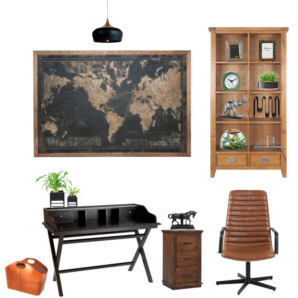משרד ביתי4 Interior Design Mood Board by meravkoren on Style Sourcebook