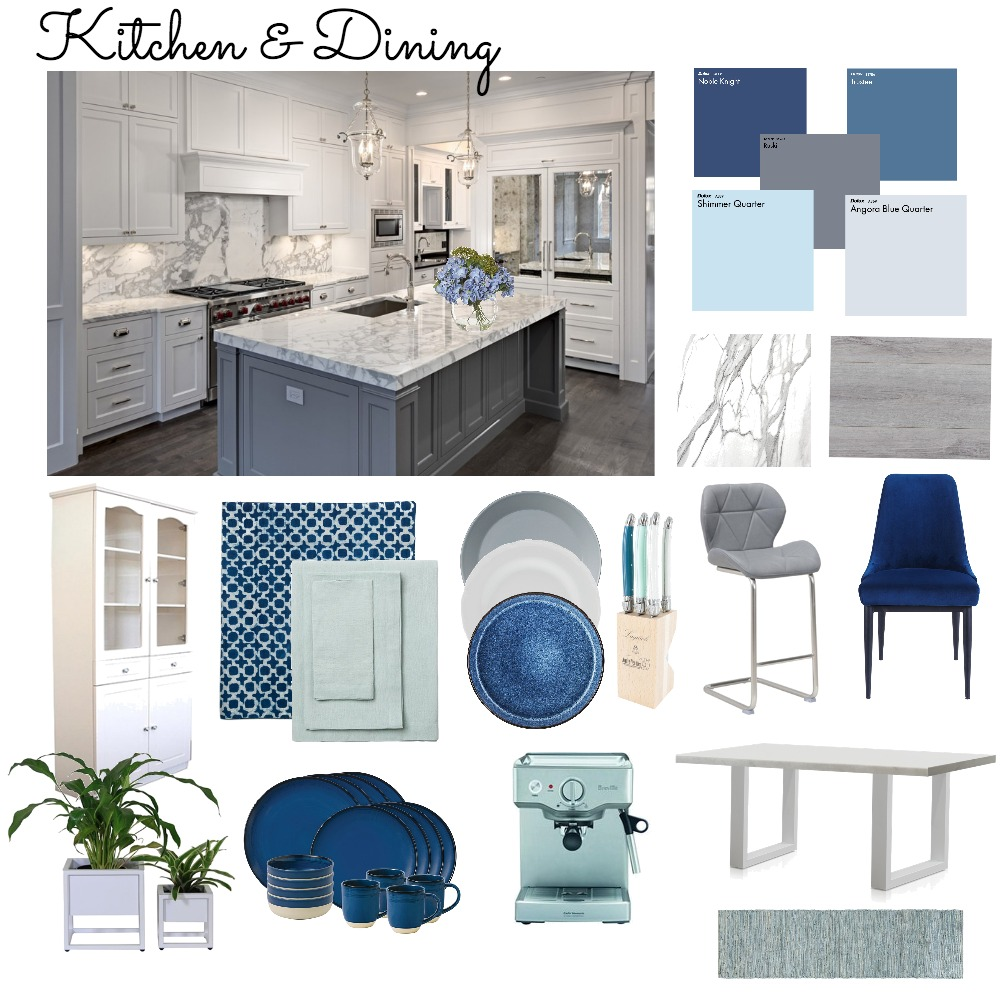 kitchen mood board Interior Design Mood Board by candacejade on Style Sourcebook