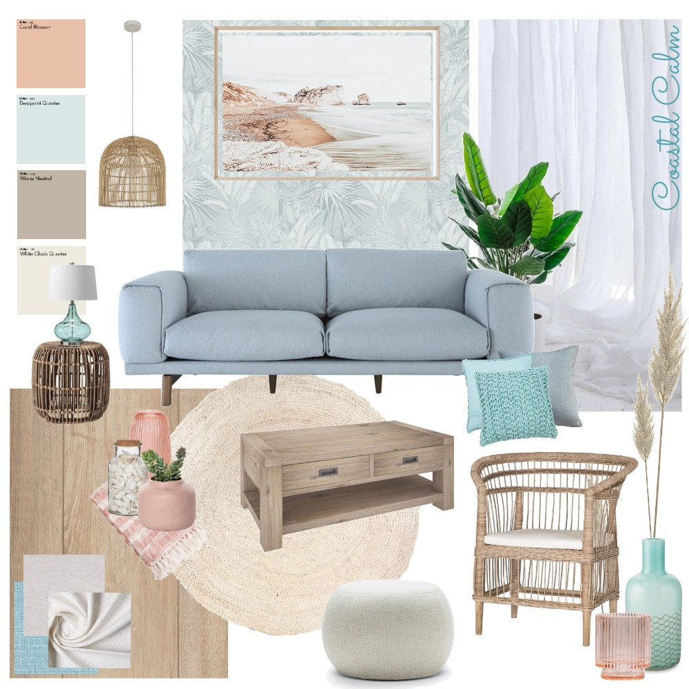 Coastal Calm Interior Design Mood Board by becsnoah on Style Sourcebook