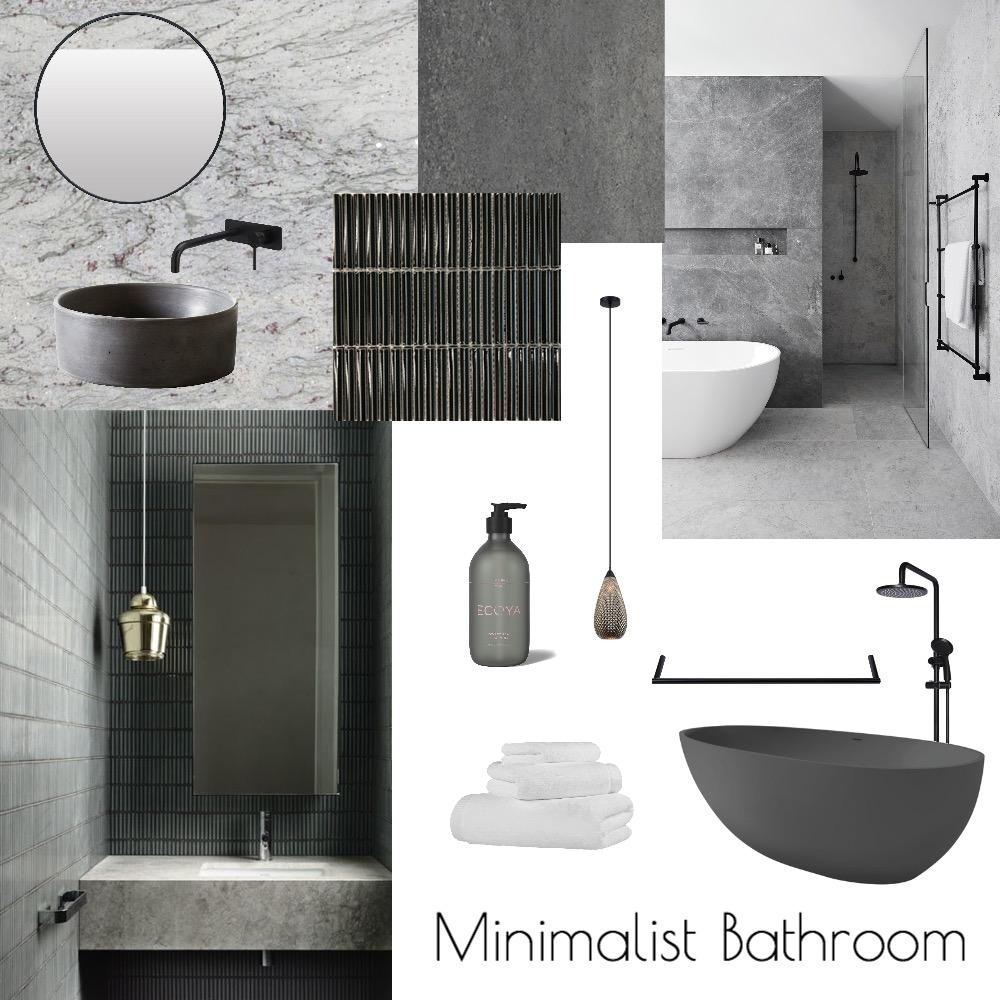 Minimalist Bathroom Interior Design Mood Board by Olive Designs on Style Sourcebook