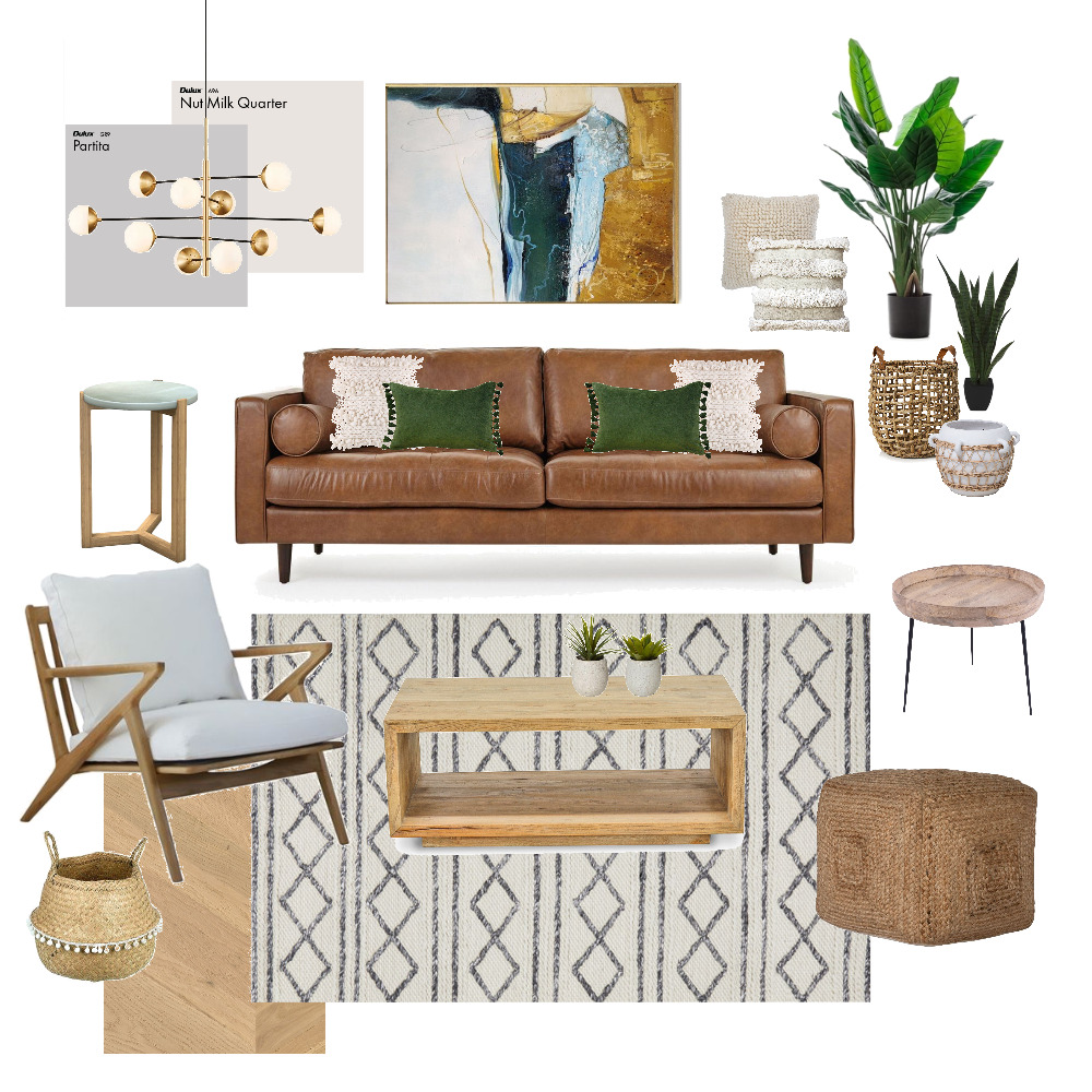 Modern Living Room Interior Design Mood Board by Tatiana_Suson on Style Sourcebook