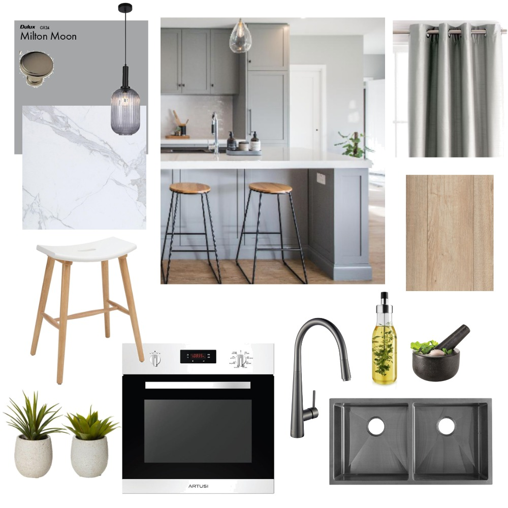 Kitchen Interior Design Mood Board by becmal77@gmail.com on Style Sourcebook