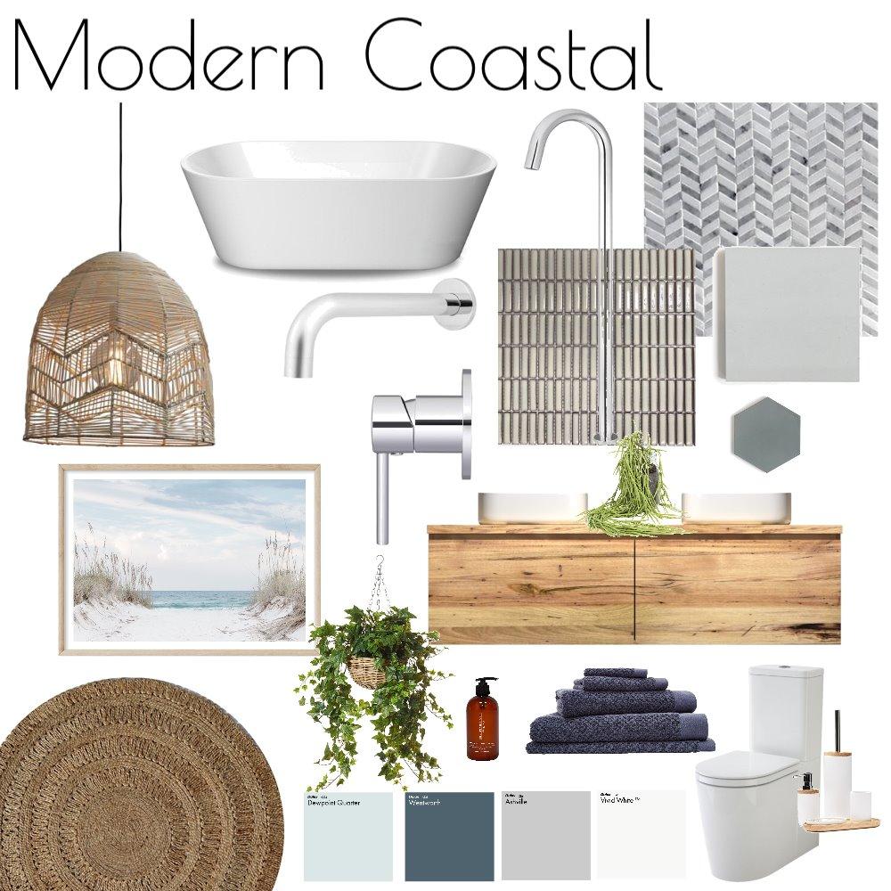 Modern Coastal Bathroom Interior Design Mood Board by The Plumbette on Style Sourcebook