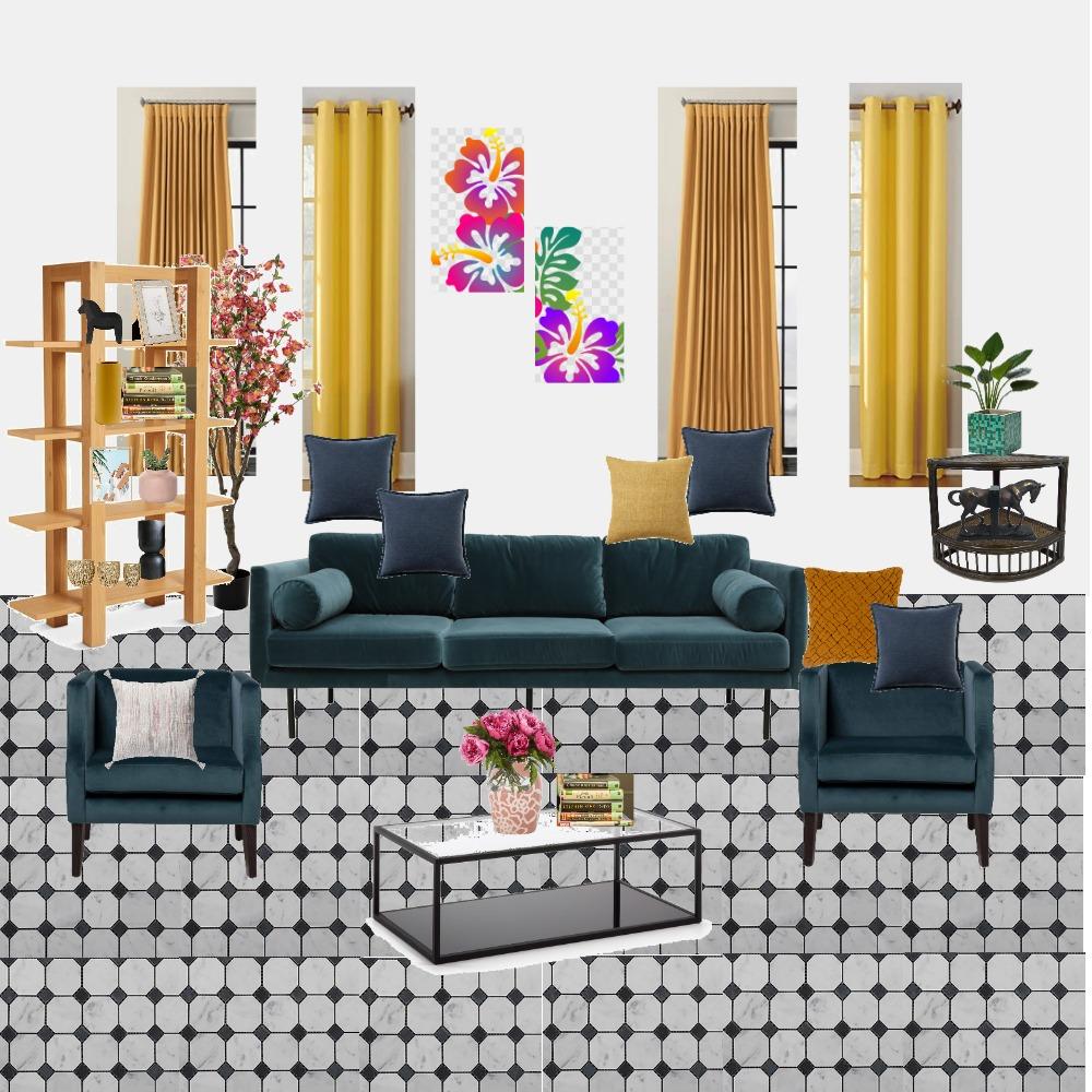 Living Room Interior Design Mood Board by celesteganabadecor on Style Sourcebook