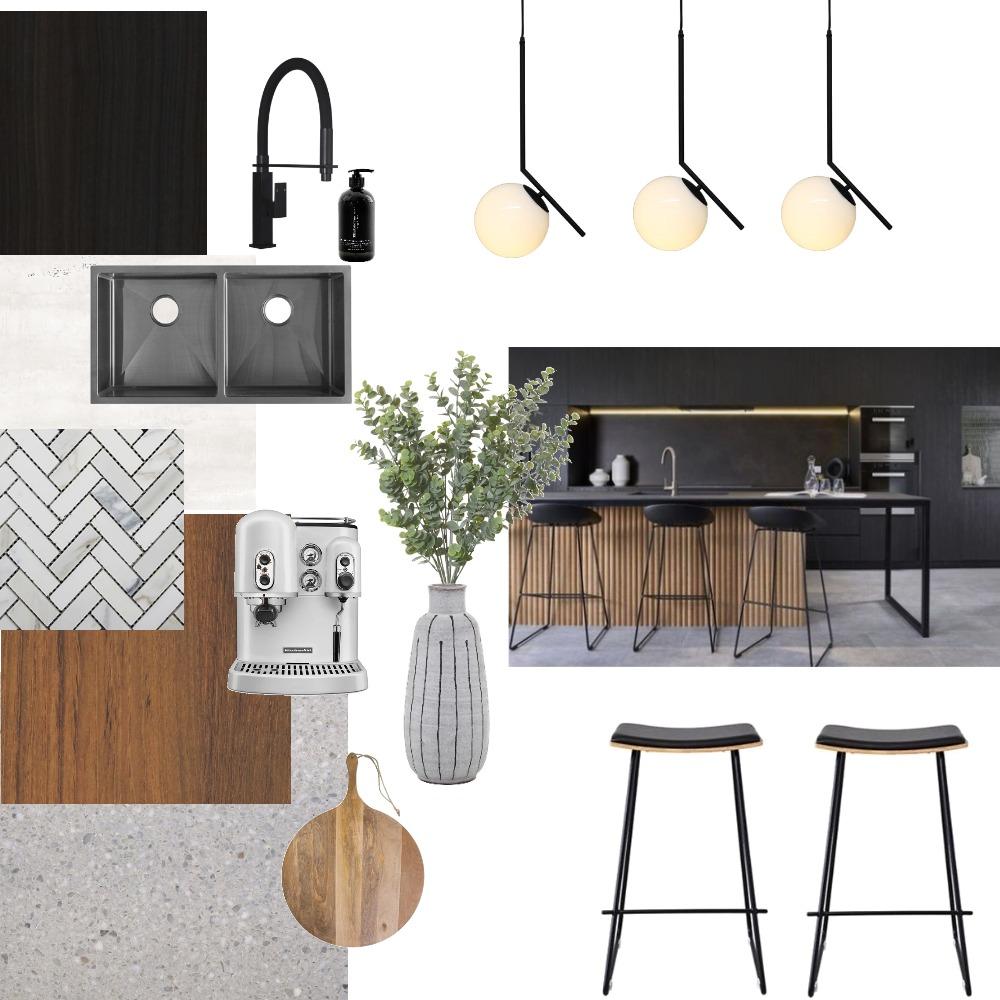 kitchen dark Interior Design Mood Board by taylorb on Style Sourcebook