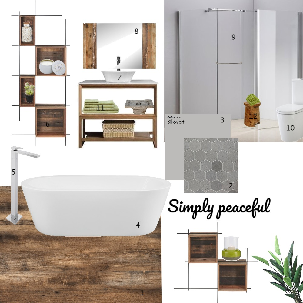 Simply peaceful Interior Design Mood Board by SCOTE1981 on Style Sourcebook