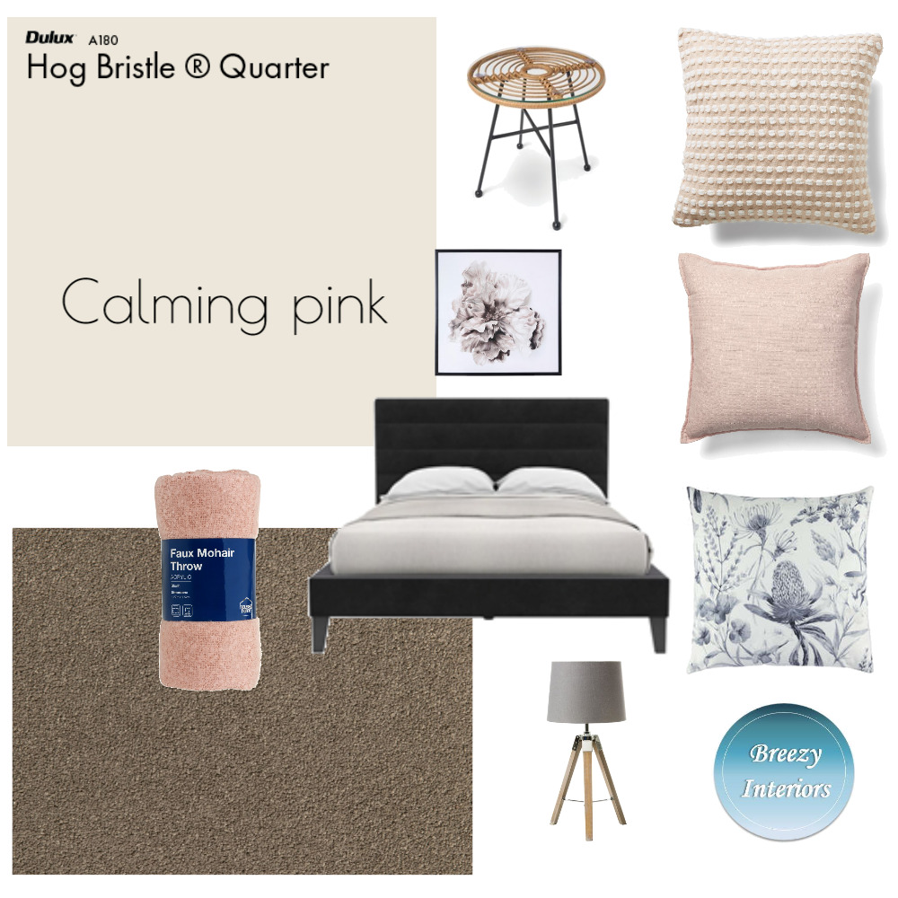 Calming pink Mood Board by Breezy Interiors on Style Sourcebook