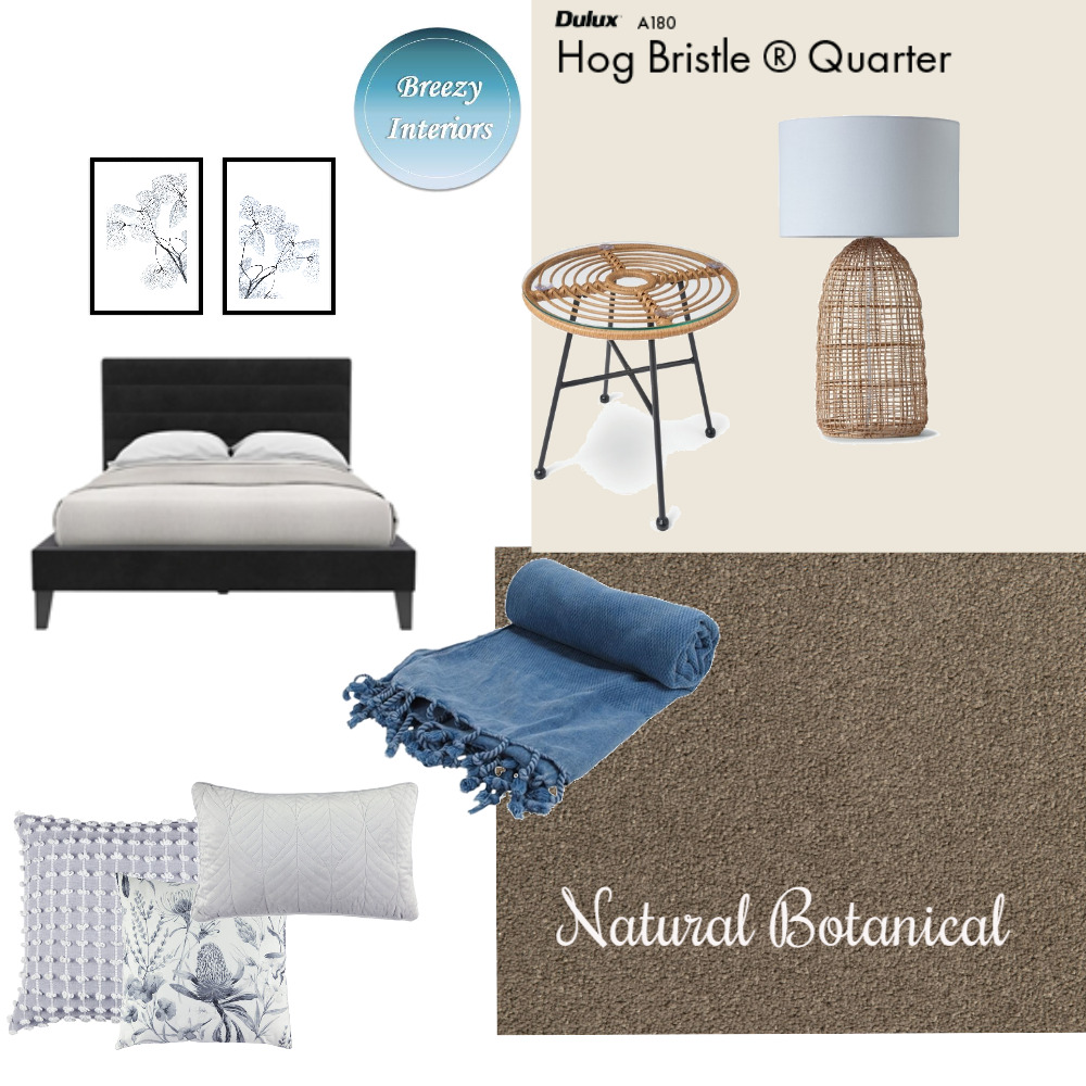 Natural Botanical Mood Board by Breezy Interiors on Style Sourcebook