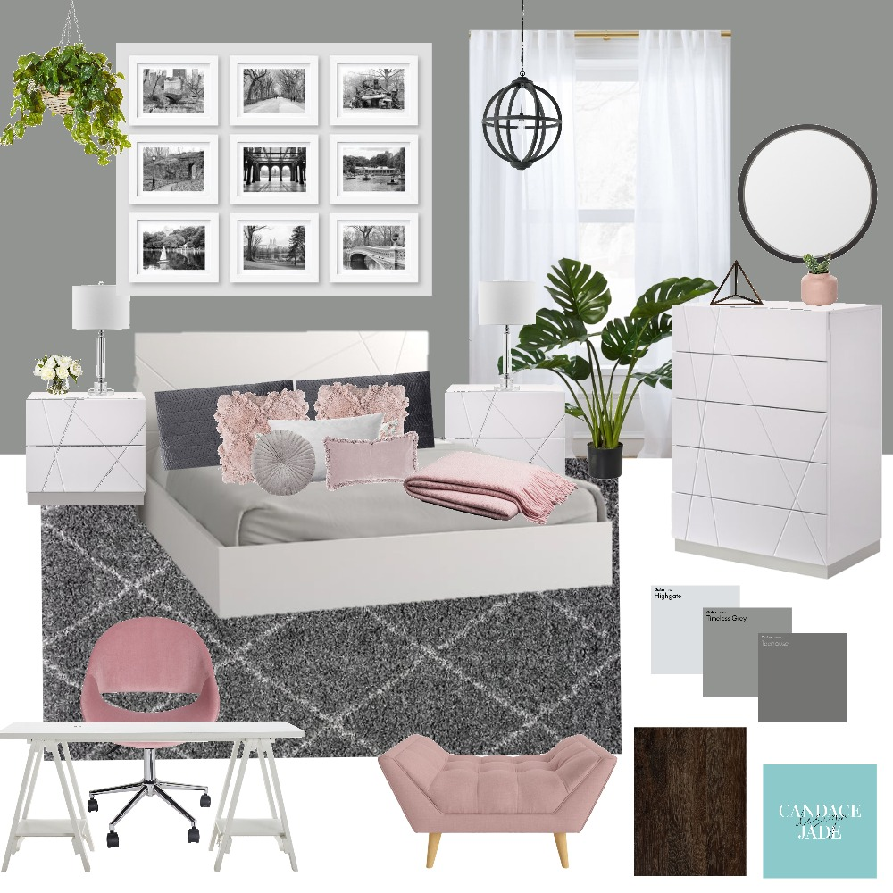 Bedroom Interior Design Mood Board by candacejade on Style Sourcebook
