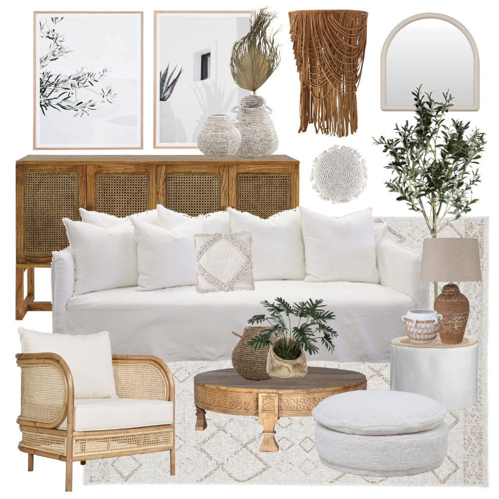 Natural living Interior Design Mood Board by Thediydecorator on Style Sourcebook