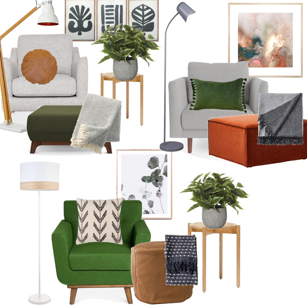 Accent chair combos Interior Design Mood Board by TRK on Style Sourcebook