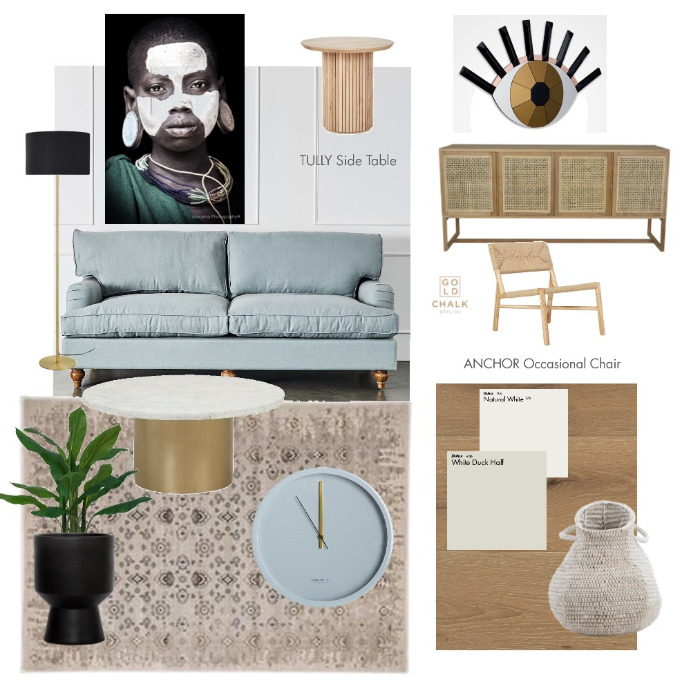 Tribal vibe Interior Design Mood Board by Gold Chalk Interior Styling on Style Sourcebook