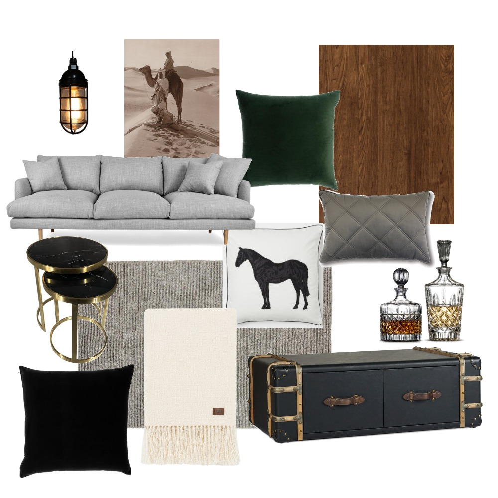Loft, industrial living Interior Design Mood Board by siennavawser on Style Sourcebook