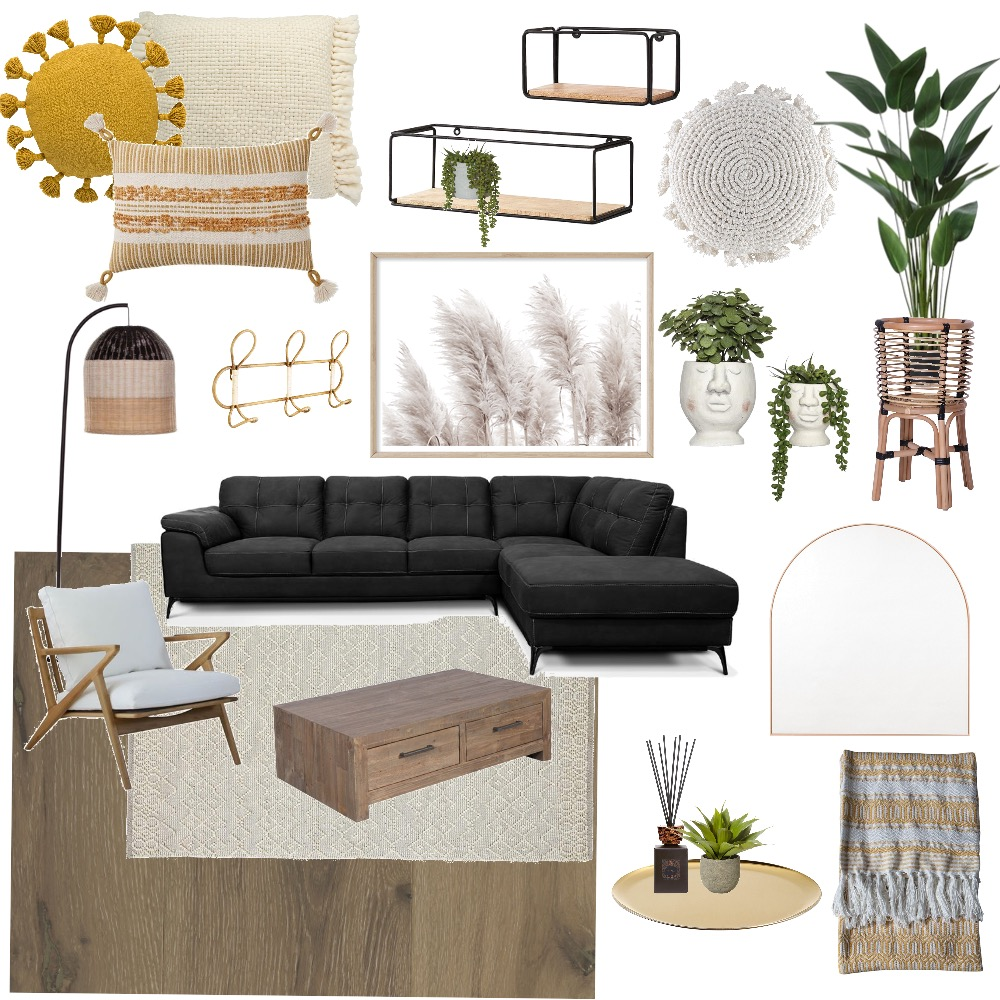 Liv's Loungeroom and Hall Way Interior Design Mood Board by athomewithcaitlyn on Style Sourcebook
