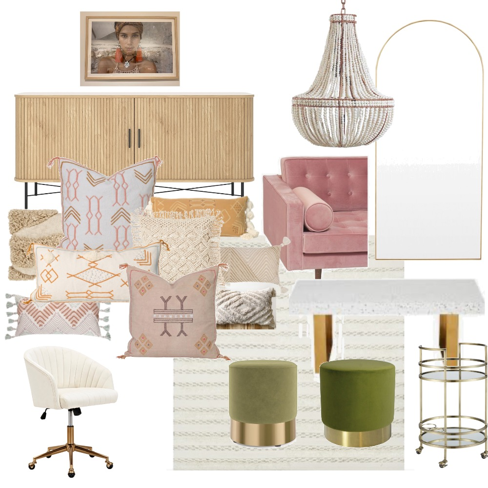 Tonimay office final pieces Interior Design Mood Board by Amy Bocutt on Style Sourcebook