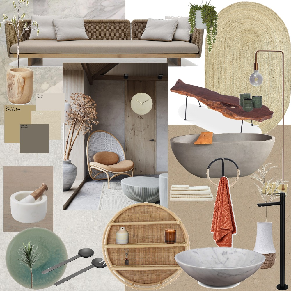 Imperfect Japandi Interior Design Mood Board by alexyitlay on Style Sourcebook