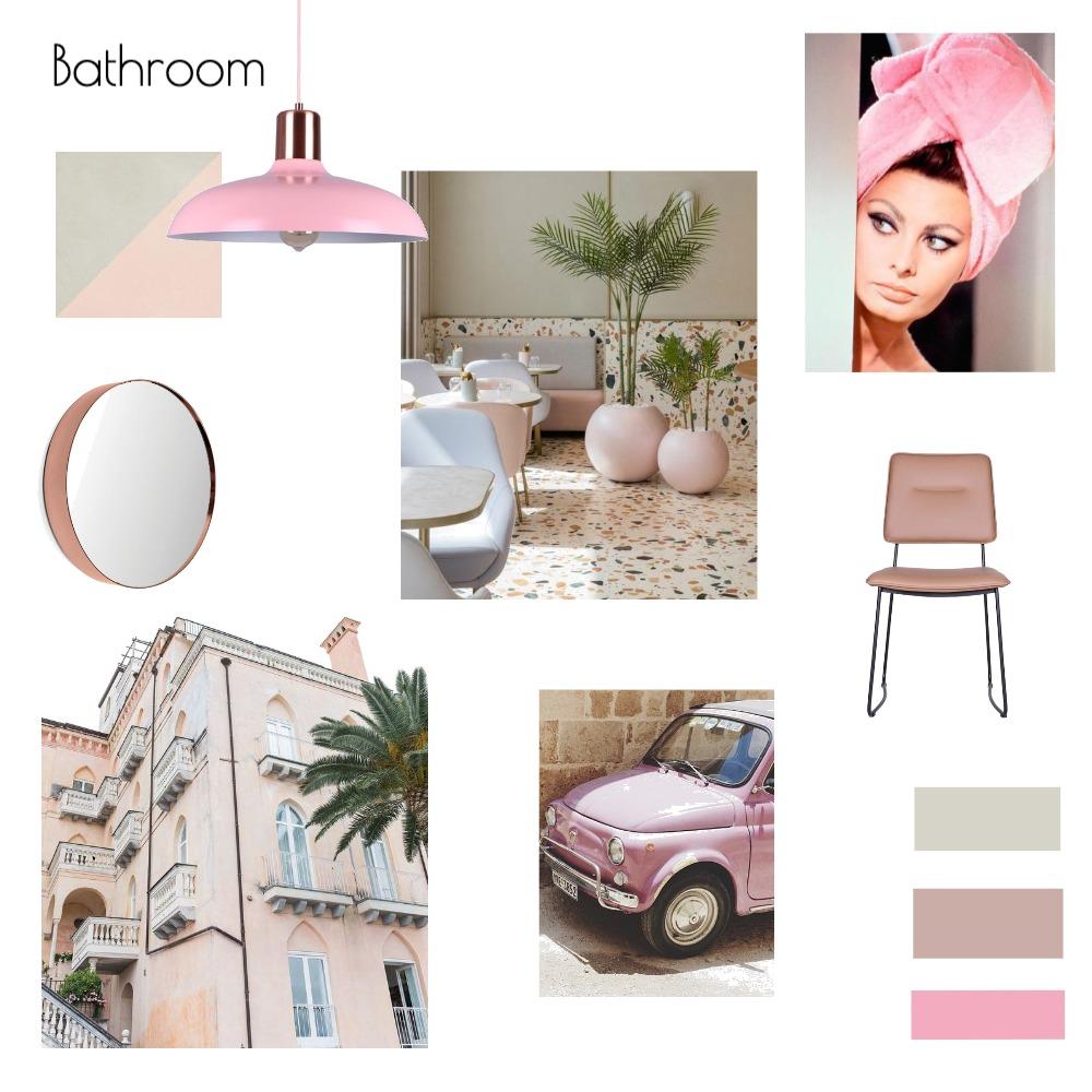 Italian Bathroom (Makeup Station) Interior Design Mood Board by Kozi Interiors on Style Sourcebook