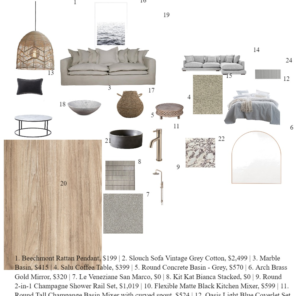 chill Interior Design Mood Board by janine taylor on Style Sourcebook