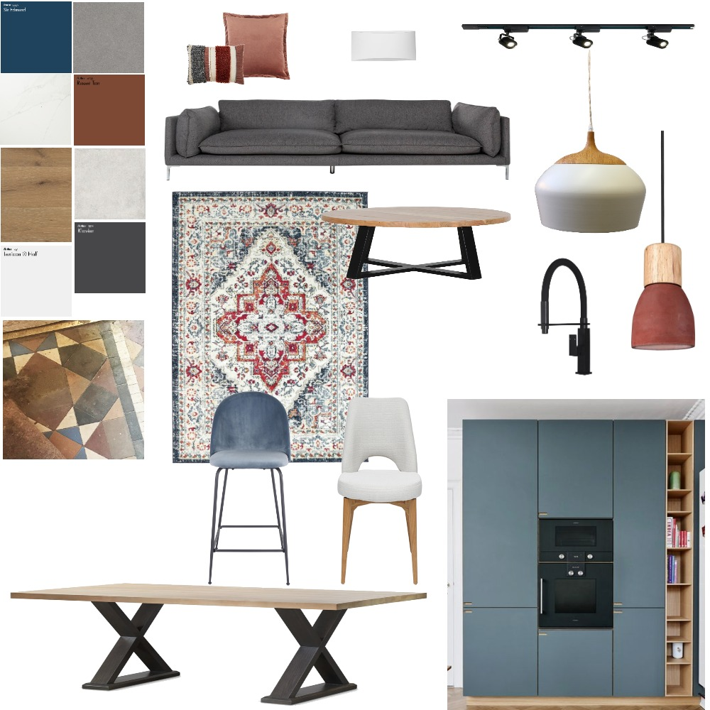 open space plan Interior Design Mood Board by tamarcreative on Style Sourcebook