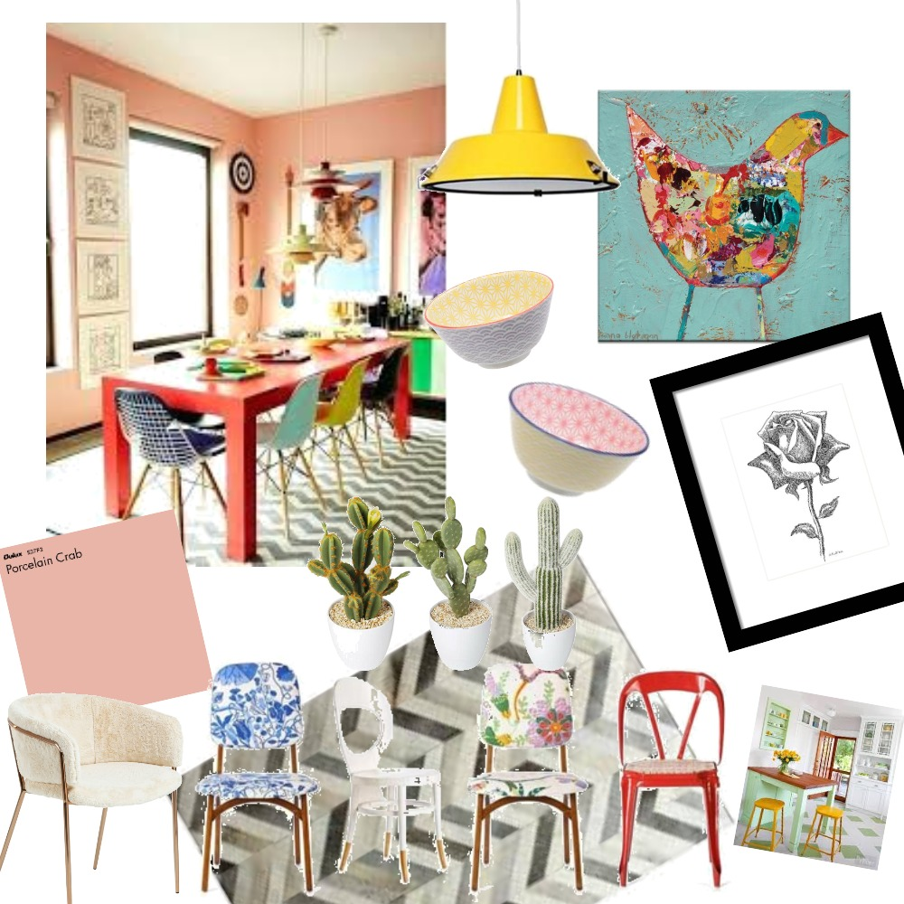 Eclectic Interior Design Mood Board by Samantha_Ane on Style Sourcebook