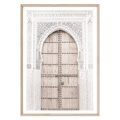 Moroccan Door II by Boho Art & Styling, a Prints for sale on Style Sourcebook