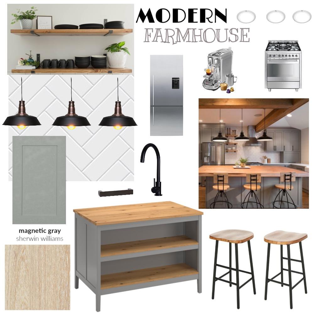 MODERN FARMHOUSE KITCHEN Interior Design Mood Board by Lesleyandrade on Style Sourcebook