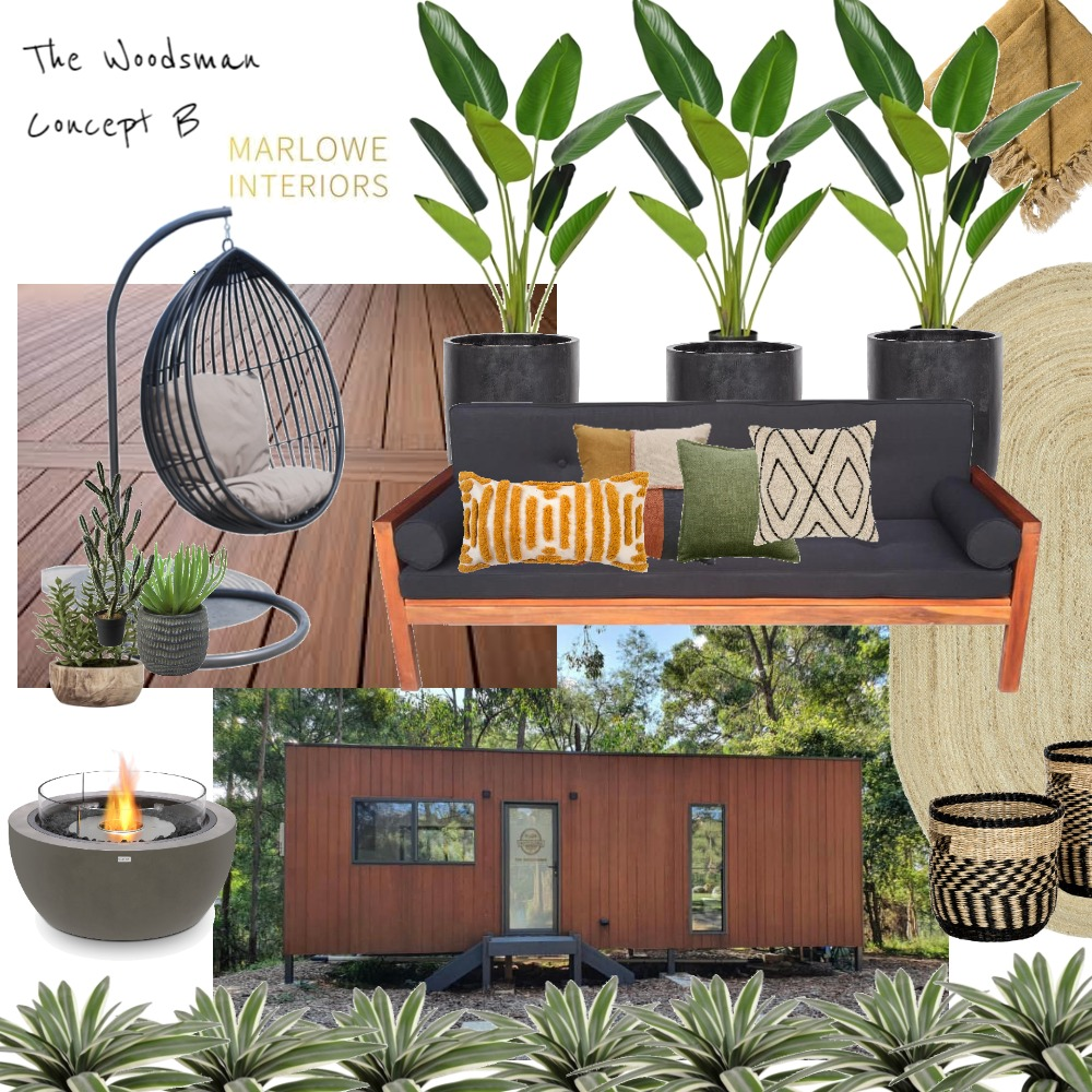 The Woodsman Concept B Interior Design Mood Board by Marlowe Interiors on Style Sourcebook