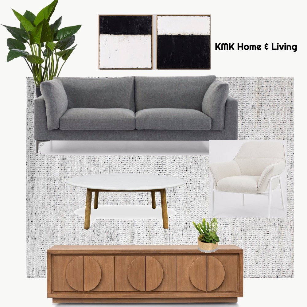 Michelle Vecchio Living Area Interior Design Mood Board by KMK Home and Living on Style Sourcebook